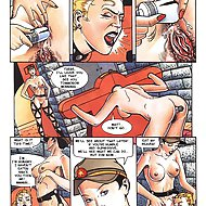 The Punishment Parlor - Cruel BDSM comics