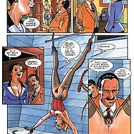 Le Salon Des Chatiments - Cruel BDSM comics