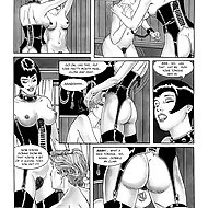Cruel BDSM comics - The Berger Institute