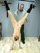 caning videos female