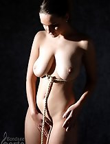 Anotinette and shibari bondage